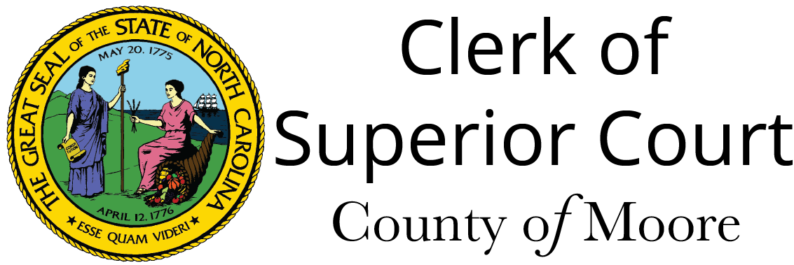 Clerk of Superior Court | County of Moore